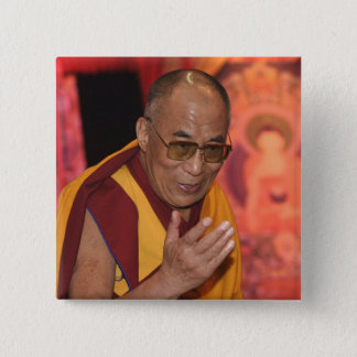 Dalai Lama Photo / The Dalai Lama Tibet 6 2 Inch Square Button