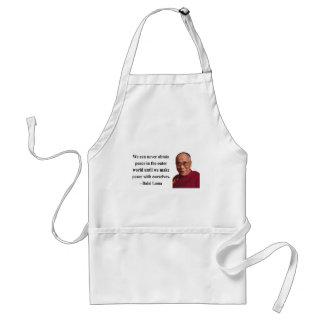 dalai lama quote 10b standard apron
