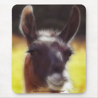 Dalai the LLAMA Fun Animal Mousepad