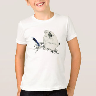 Dale Bluejay - Kid's Ringer T Shirt