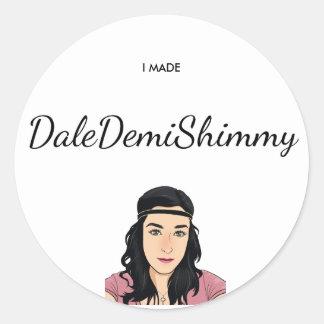 Dale Demi Shimmy Sticker
