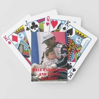 Dale Earnhardt, Chase Elliott Playing cards. Bicycle Playing Cards