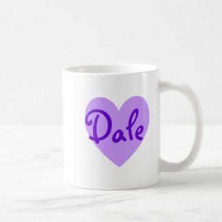 Dale in Purple Coffee Mug