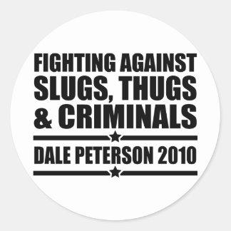 Dale Peterson 2010 Classic Round Sticker