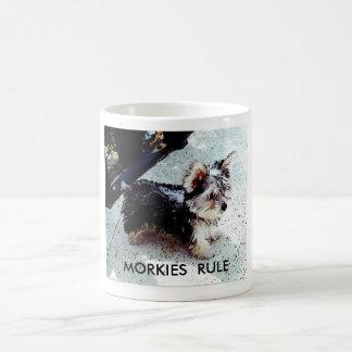 DALILA, MORKIES  RULE COFFEE MUG