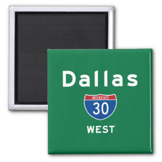 Dallas 30 magnet