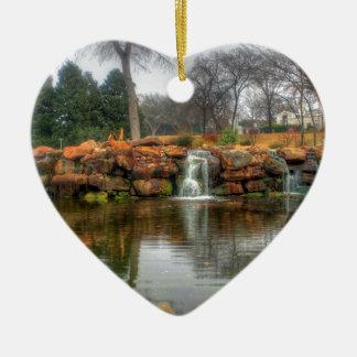 Dallas Arboretum and Botanical Garden Ceramic Heart Ornament