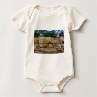 Dallas Arboretum and Botanical Gardens Entrance Baby Bodysuit