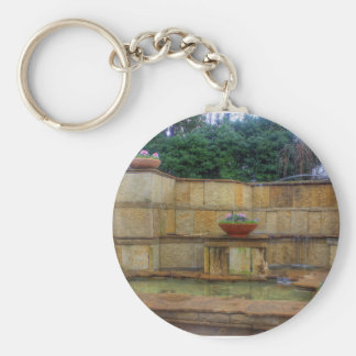 Dallas Arboretum and Botanical Gardens Entrance Basic Round Button Keychain