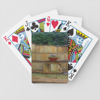 Dallas Arboretum and Botanical Gardens Entrance Bicycle Playing Cards