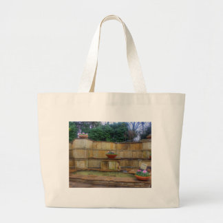 Dallas Arboretum and Botanical Gardens Entrance Large Tote Bag