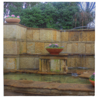 Dallas Arboretum and Botanical Gardens Entrance Napkin