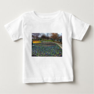 Dallas Arboretum and Botanical Gardens flower bed Baby T-Shirt