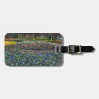 Dallas Arboretum and Botanical Gardens flower bed Bag Tag