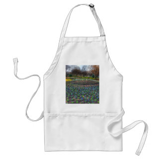 Dallas Arboretum and Botanical Gardens flower bed Standard Apron