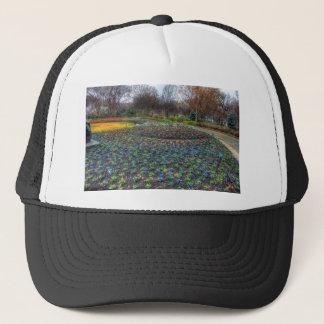 Dallas Arboretum and Botanical Gardens flower bed Trucker Hat