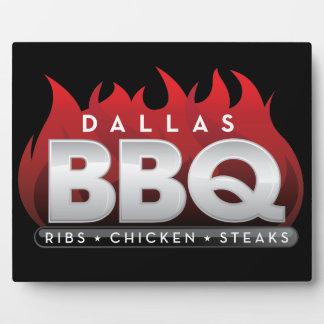 Dallas BBQ Display Plaque
