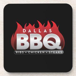 Dallas BBQ Hard Plastic coasters