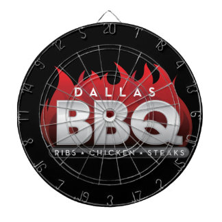 Dallas BBQ ProfiledInk Dart Board