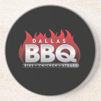 Dallas BBQ Sandstone Drink Coaster