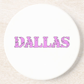 Dallas Beverage Coaster