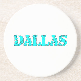 Dallas Beverage Coasters