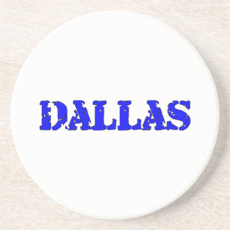 Dallas Drink Coaster