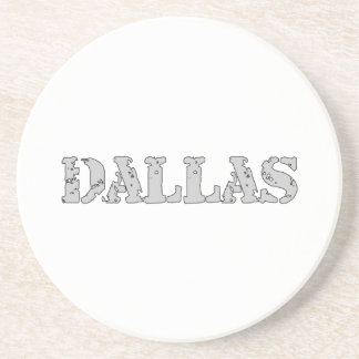 Dallas Drink Coasters