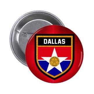 Dallas  Flag 2 Inch Round Button