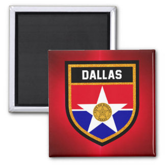 Dallas  Flag Magnet