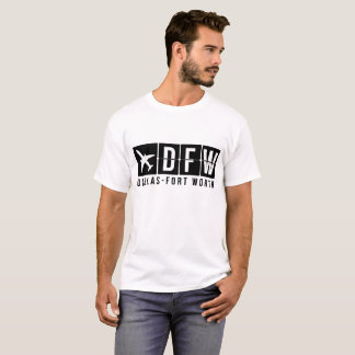 Dallas Fort Worth Airport Code T-Shirt