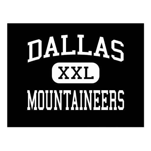 Dallas - Mountaineers - Senior - Dallas Postcard