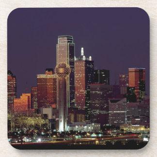 Dallas Night Skyline Coaster