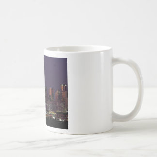 Dallas Night Skyline Coffee Mug