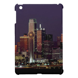 Dallas Night Skyline iPad Mini Case