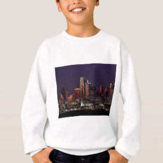 Dallas Night Skyline Sweatshirt