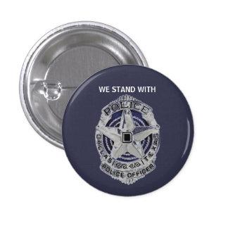 Dallas Police Officers Memorial Button