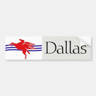 Dallas proposed flag bumper sticker