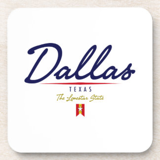 Dallas Script Coaster