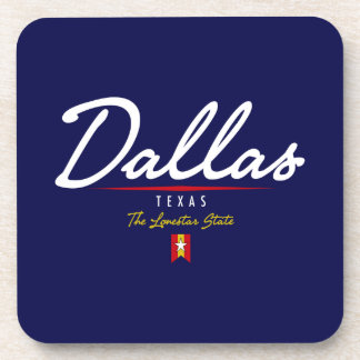 Dallas Script Coasters