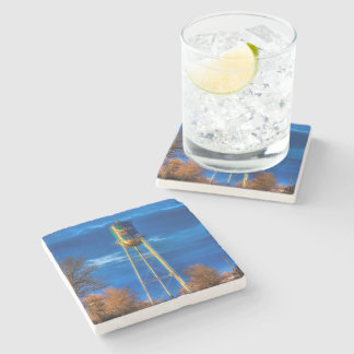 Dallas, SD Marble Stone Coaster