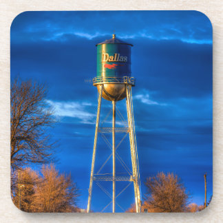 Dallas, SD Water Tower Drink Coaster