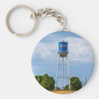 Dallas, SD Water Tower & Museum Basic Round Button Keychain