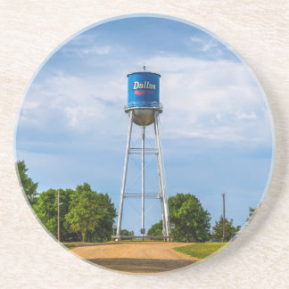 Dallas, SD Water Tower & Museum Drink Coaster