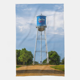 Dallas, SD Water Tower & Museum Kitchen Towel