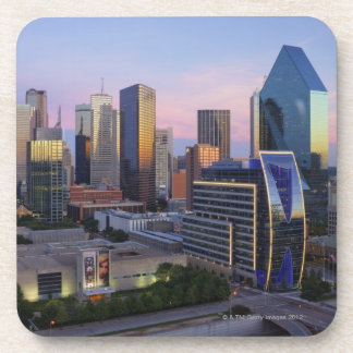Dallas Skyline Drink Coasters