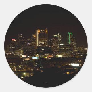 Dallas Skyline Stickers