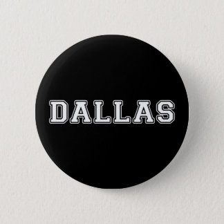 Dallas Texas 2 Inch Round Button