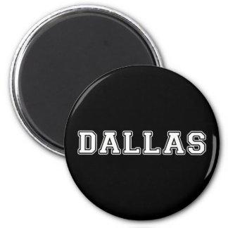Dallas Texas 2 Inch Round Magnet
