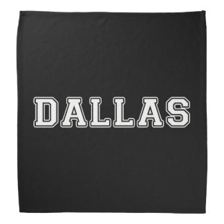 Dallas Texas Bandana